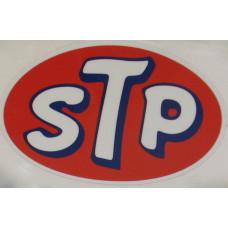 Sticker STP 78 x 118 mm olie additives