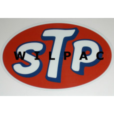 Sticker STP 32 x 50 mm olie additives