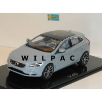 Volvo V40 2016 amazon blauw Norev 1:43