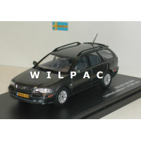 Volvo V40 2001 antracietgrijs metallic Triple 9 1:43