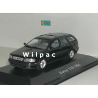 Volvo V40 1996 antraciet / zwart metallic Minichamps 1:43