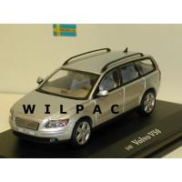 Volvo V50 2003 zilvergrijs metallic Motor Art 1:43