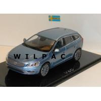 Volvo V60 2013 power blue blauw metallic Norev 1:43