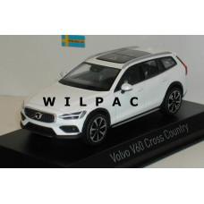 Volvo V60 Cross Country 2019 cristal white Norev 1:43