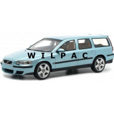 Volvo V70 R Estate flash green metallic 2003 DNA Collectibles 1:18 mei