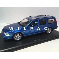 Volvo V70 R AWD Estate 1:18 laser blue blauw metallic 1999 DNA Collectibles V70R