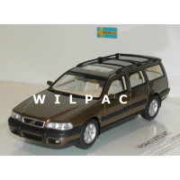 Volvo V70XC 1997 bruin metallic DNA Collectibles 1:43