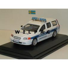 Volvo V70 2000 Policja Sloveense Politie Cararama 1:43