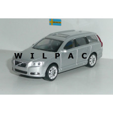 Volvo V70 2007 zilver grijs metallic Rastar 1:43
