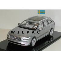 Volvo V90 2016 bright silver metallic Norev 1:43