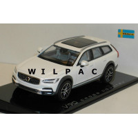 Volvo V90 Cross Country CC XC 2018 crystal white wit Norev 1:43