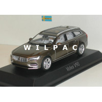Volvo V90 2016 twilight bronze metallic Norev 1:43