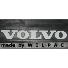 Sticker VOLVO 160 x 21 mm. WIT tbv spatlap 240 1988+