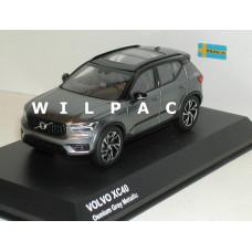Volvo XC40 2018 Osmium grey grijs metallic Kyosho 1:43