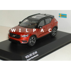 Volvo XC40 2018 fusion red rood metallic Kyosho 1:43