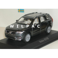 Volvo XC90 1:18 2015 onyx black metallic Ultimate Diecast zwart
