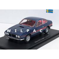 Volvo Zagato GTZ Coupe conceptcar blauw metallic1969 Avenue 43 Autocult 1:43