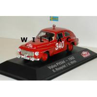 Volvo PV544 1962 Monte Carlo Rally Rosqvist Wirth Atlas 1:43