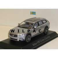 Volvo V90 Cross Country XC 2016 zilver grijs metallic Norev 1:43